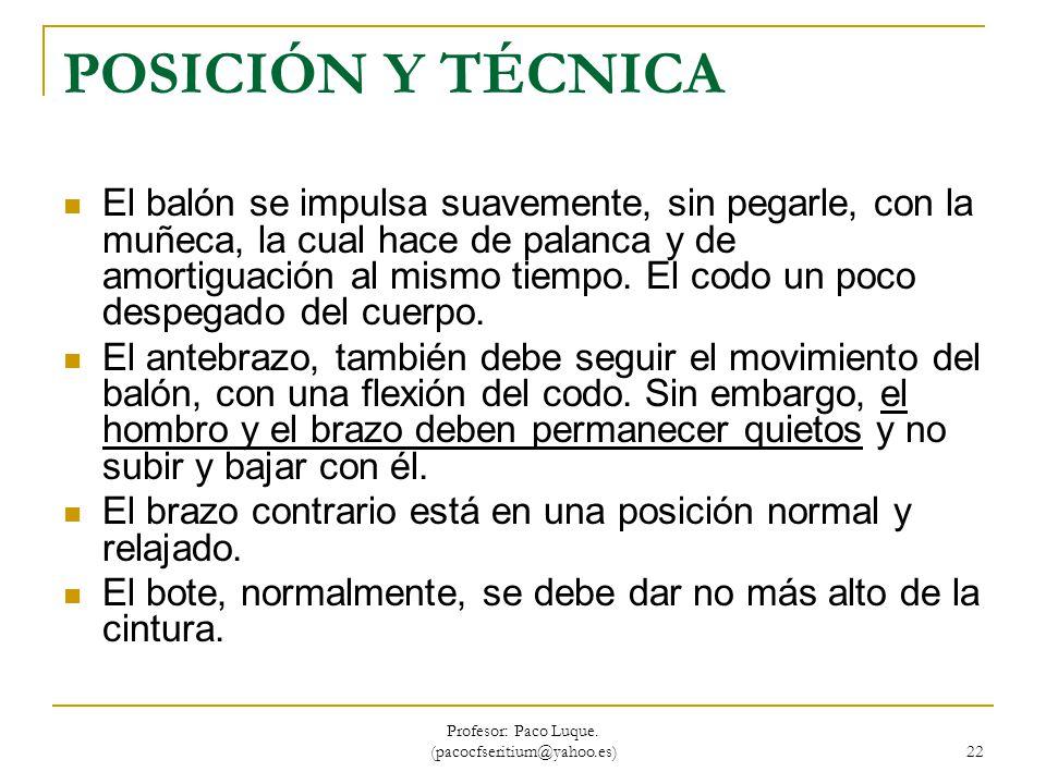 Profesor: Paco Luque. (pacocfseritium@yahoo.es)