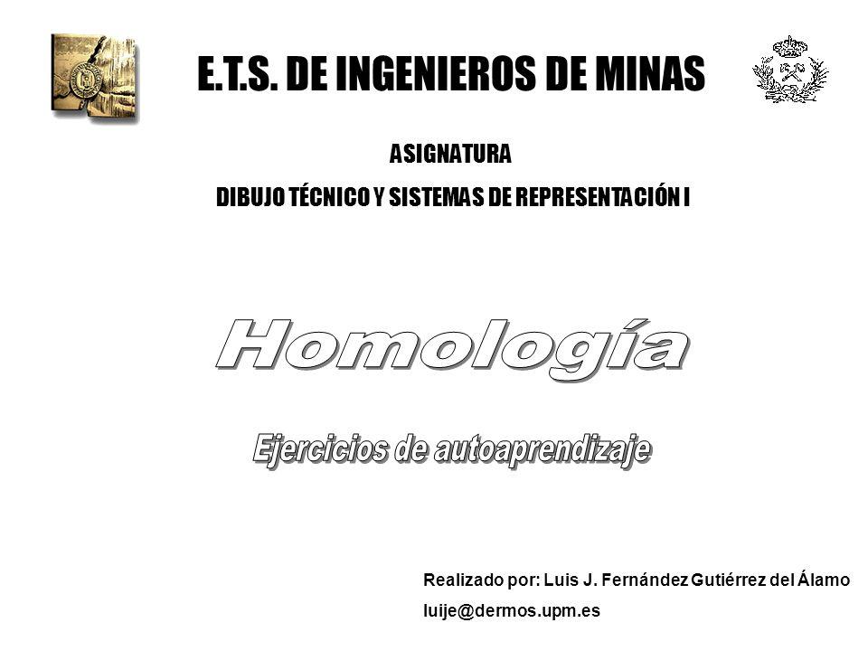 E.T.S. DE INGENIEROS DE MINAS