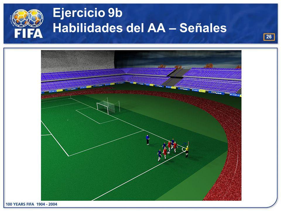 Ejercicio 9b Habilidades del AA – Señales