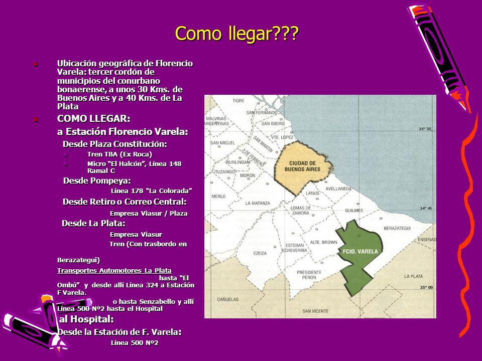 Calle dr carlos galli mainini n 240 florencio varela ppt descargar - Hospital de la paz como llegar ...