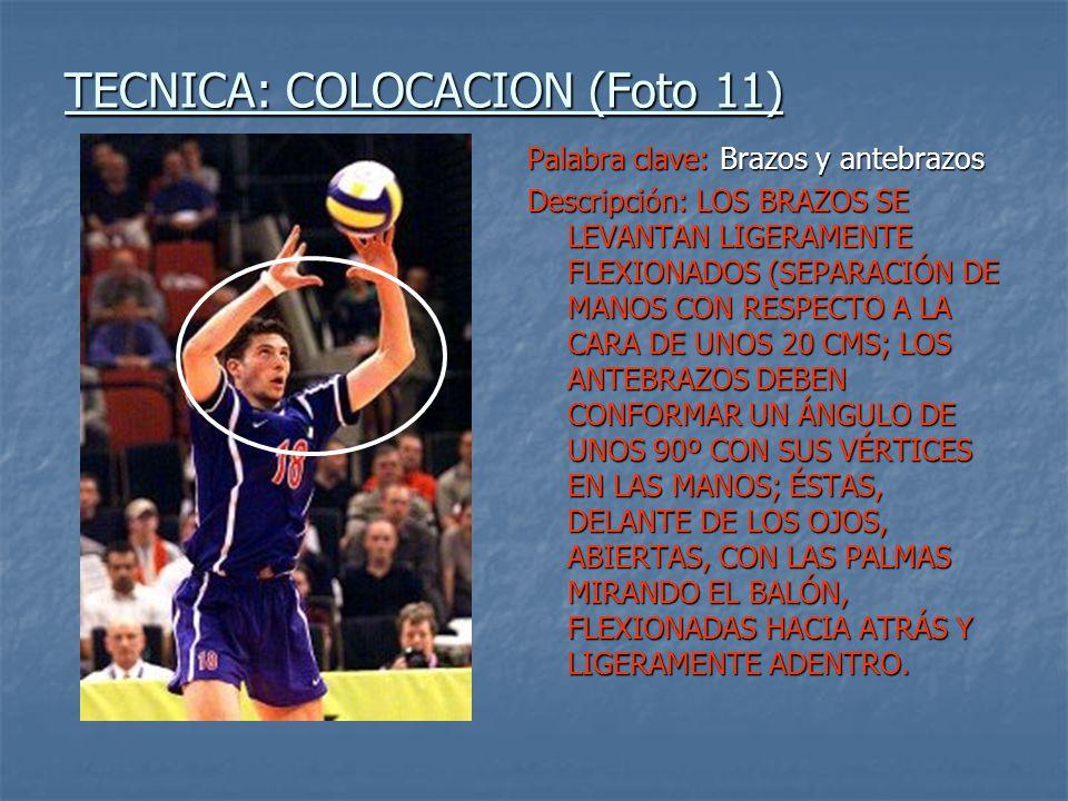 TECNICA: COLOCACION (Foto 11)