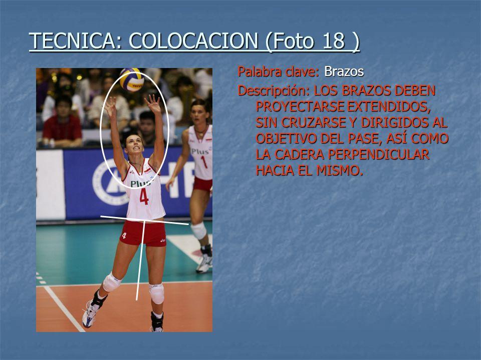 TECNICA: COLOCACION (Foto 18 )