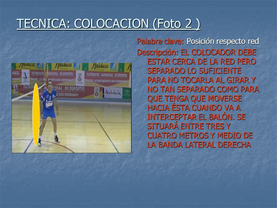 TECNICA: COLOCACION (Foto 2 )