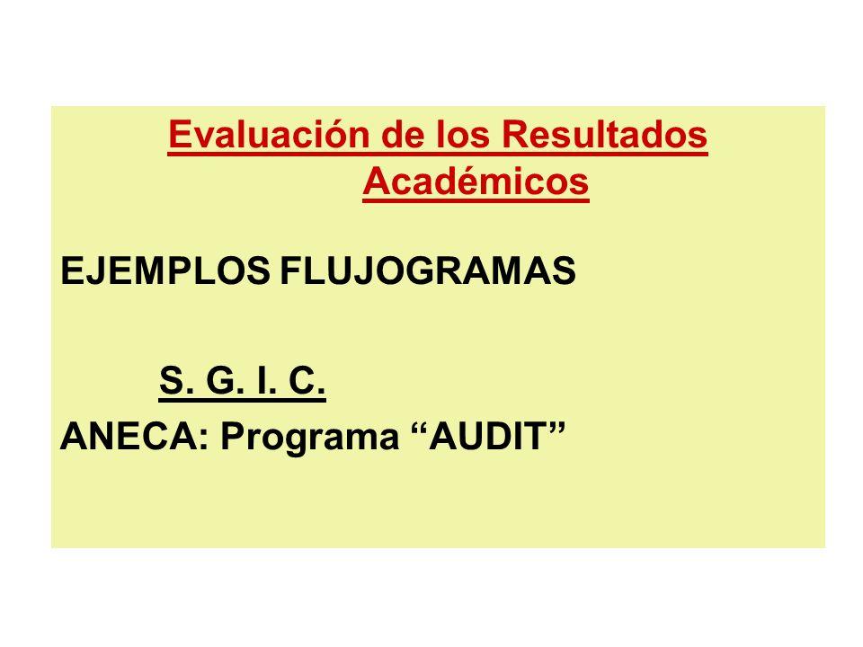 Evaluación de los Resultados Académicos