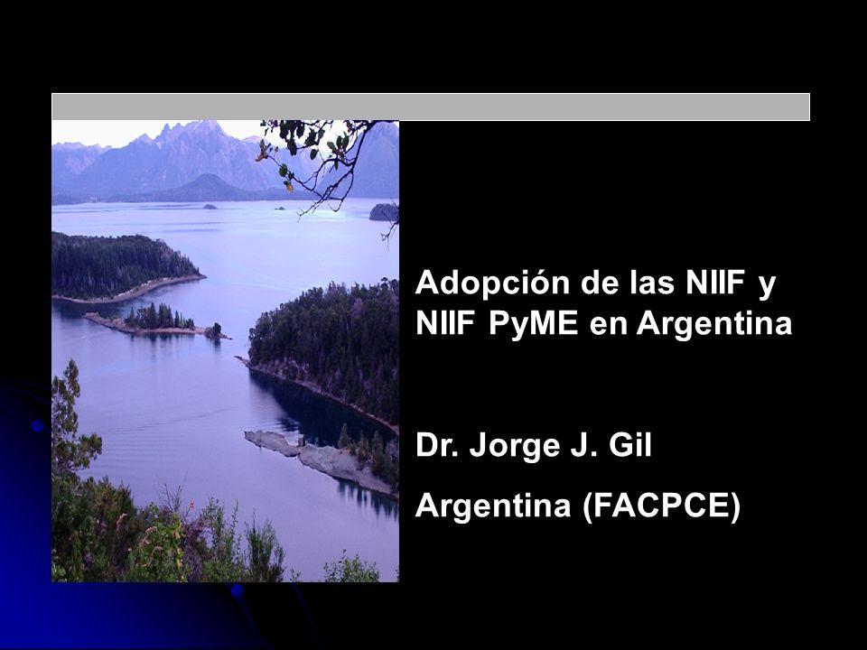 Adopción de las NIIF y NIIF PyME en Argentina