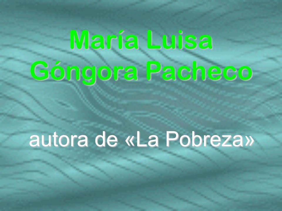 María Luisa Góngora Pacheco