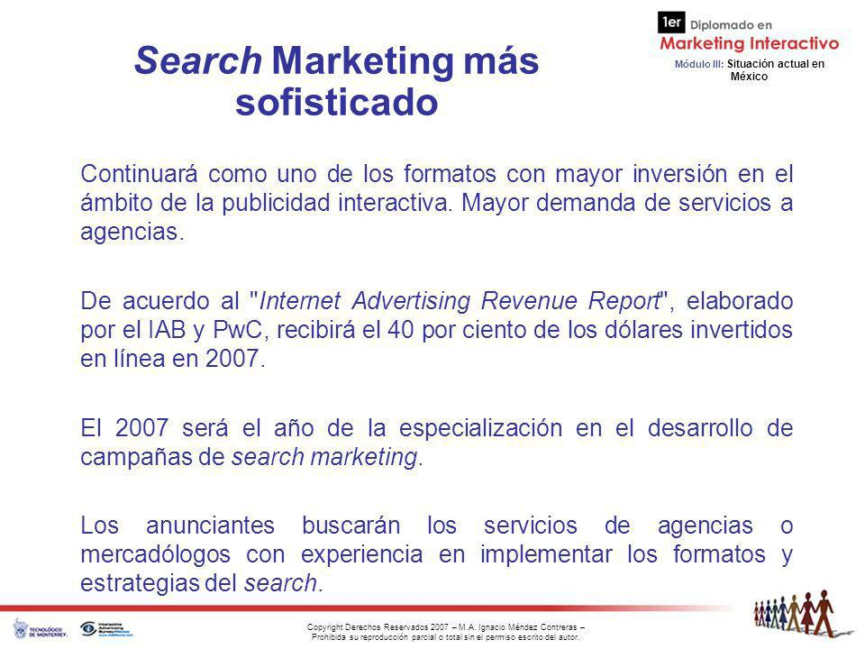 Search Marketing más sofisticado