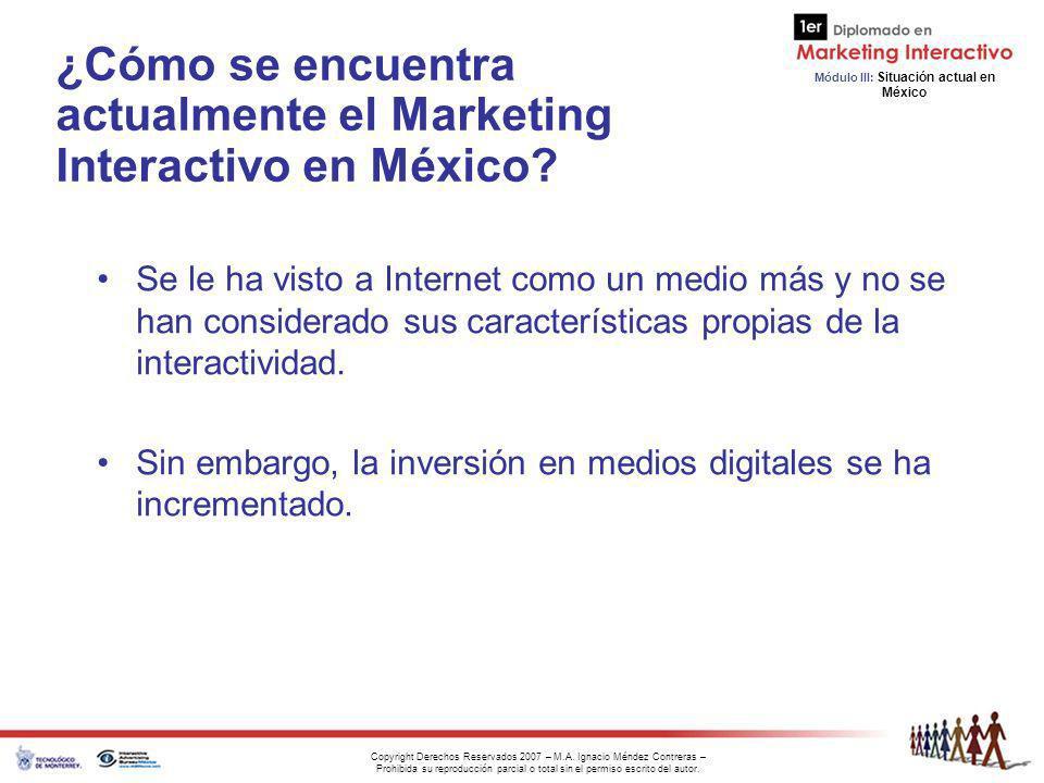 ¿Cómo se encuentra actualmente el Marketing Interactivo en México