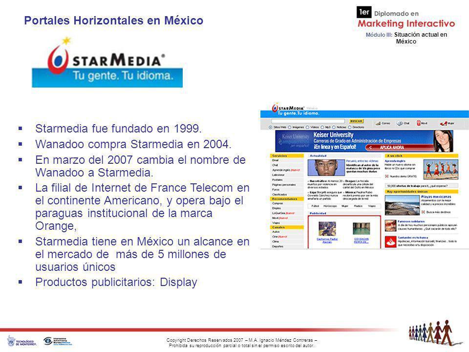 Portales Horizontales en México