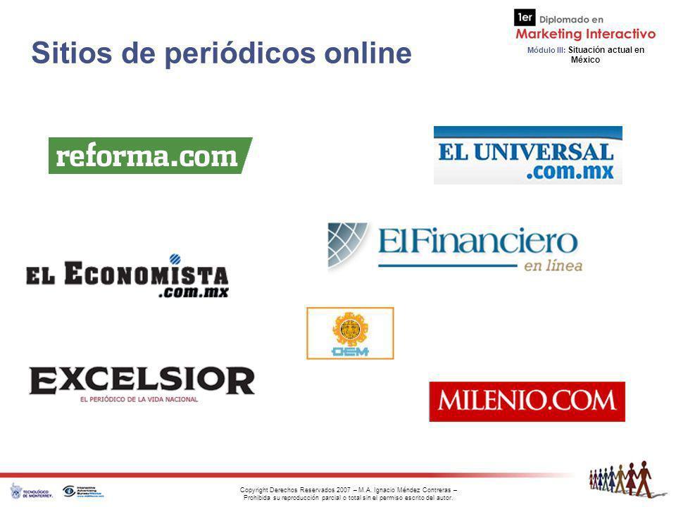 Sitios de periódicos online
