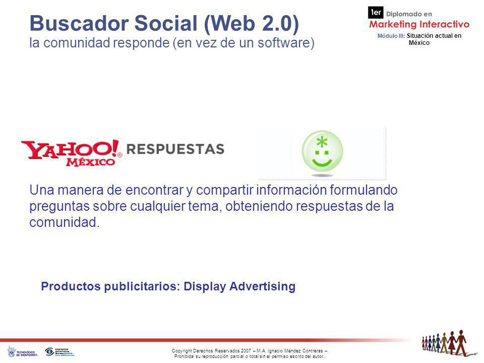 Buscador Social (Web 2.0) la comunidad responde (en vez de un software)