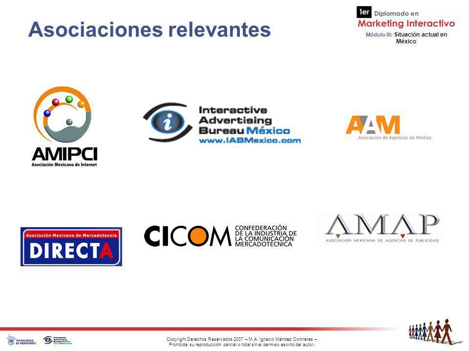 Asociaciones relevantes