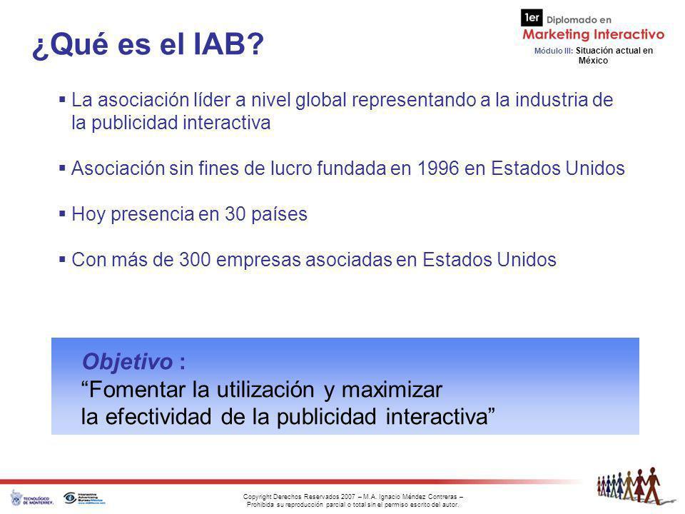 ¿Qué es el IAB Objetivo : Fomentar la utilización y maximizar