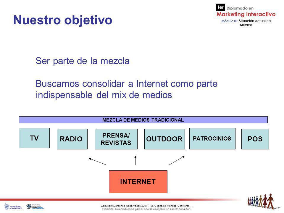 MEZCLA DE MEDIOS TRADICIONAL