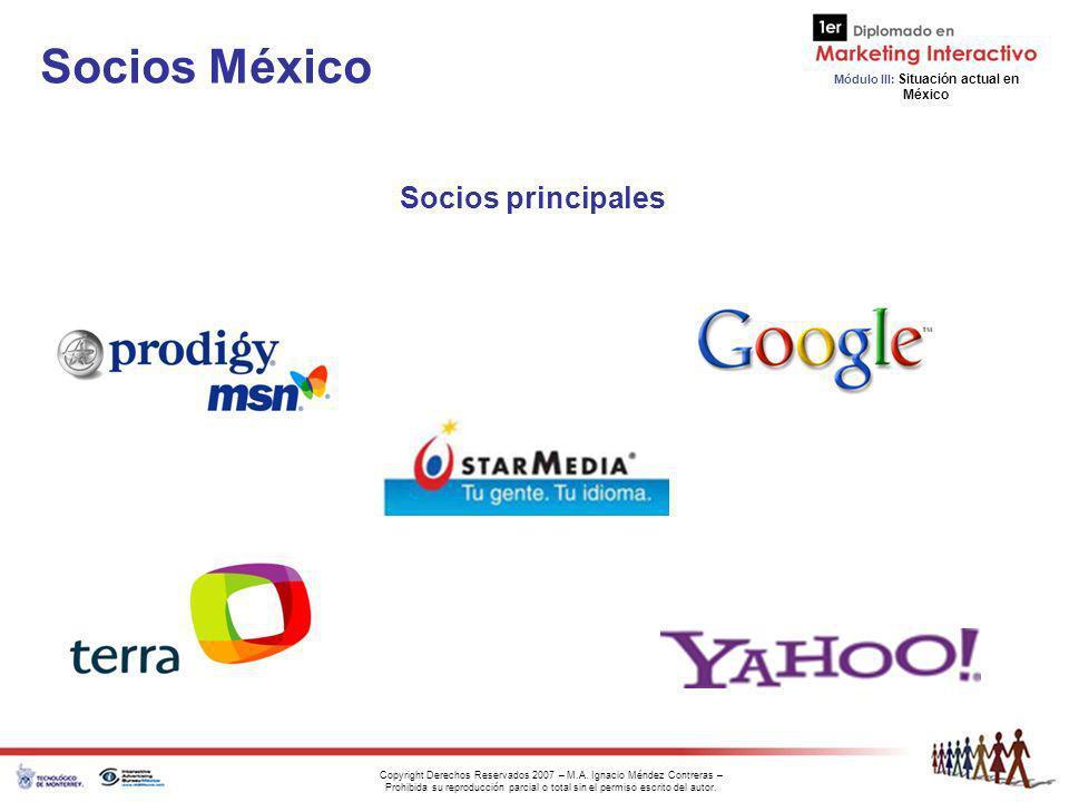 Socios México Socios principales