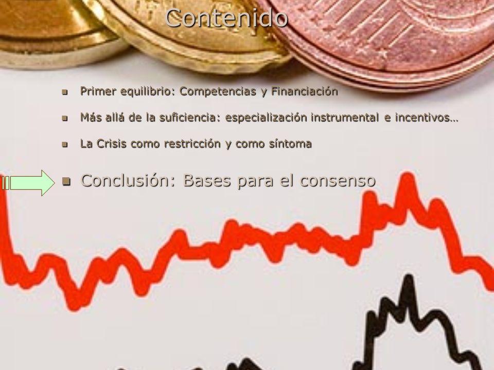Contenido Conclusión: Bases para el consenso
