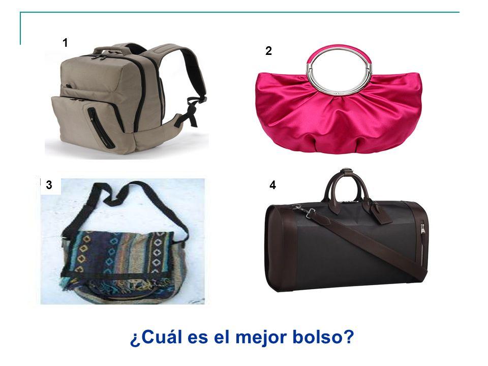 1 2 3 4 ¿Cuál es el mejor bolso