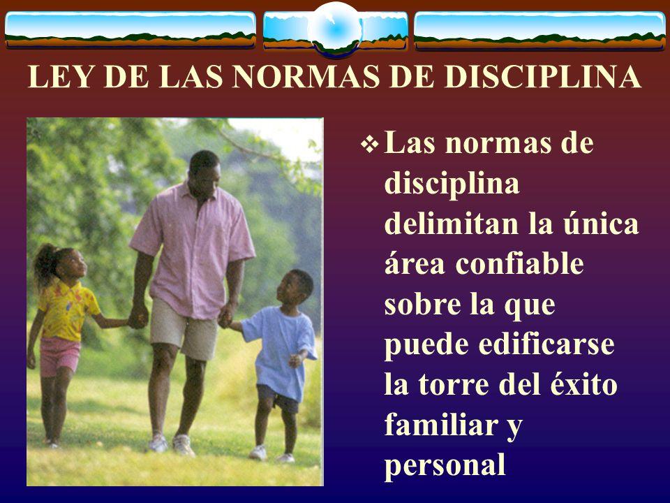 LEY DE LAS NORMAS DE DISCIPLINA