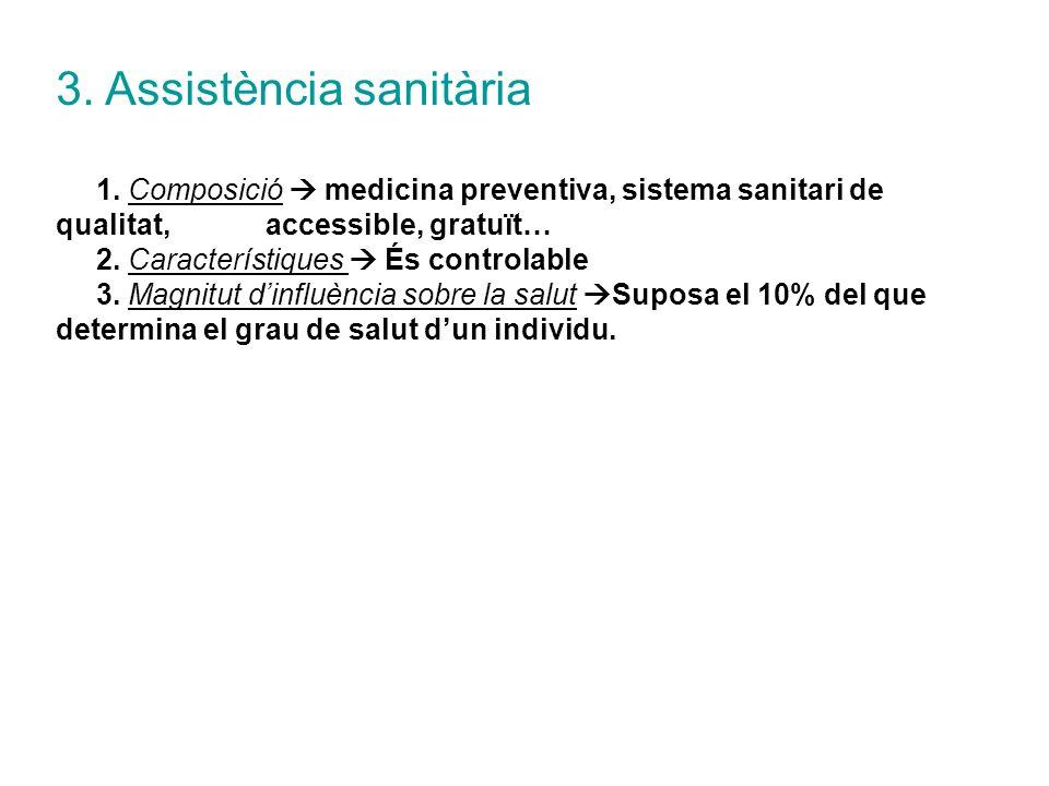 3. Assistència sanitària