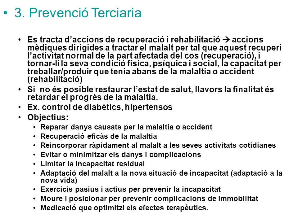 3. Prevenció Terciaria