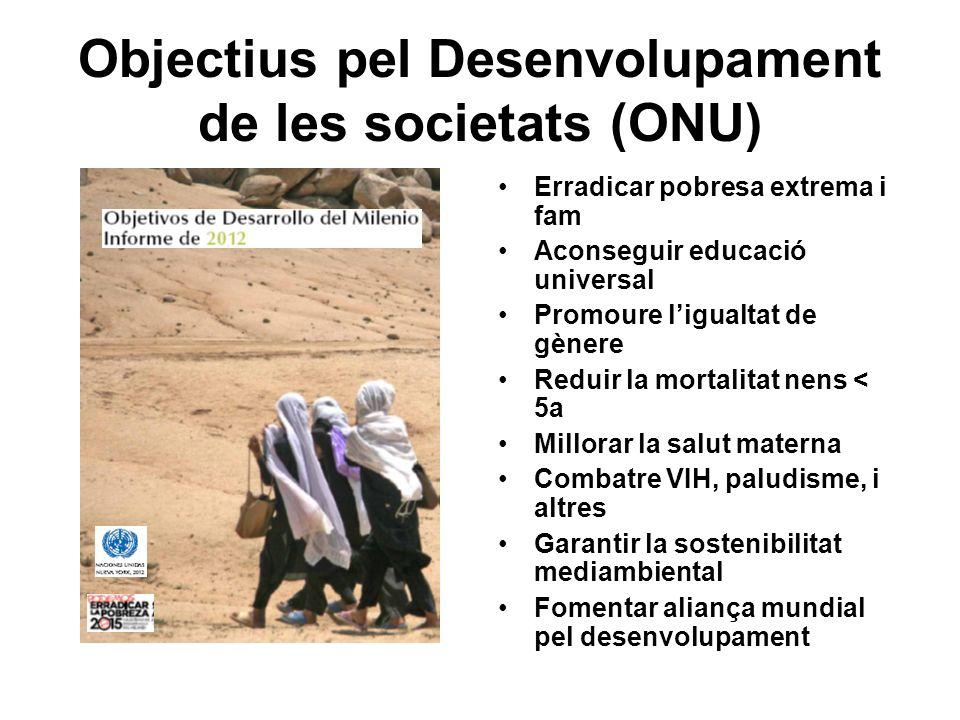 Objectius pel Desenvolupament de les societats (ONU)