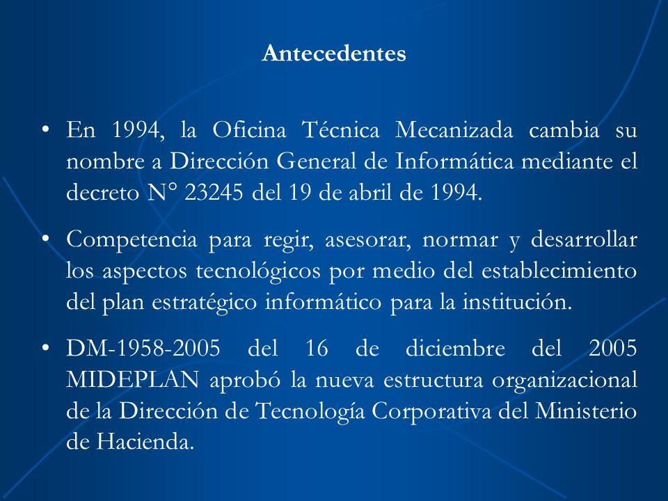 Direcci n general de inform tica ppt descargar for Oficina virtual ministerio de hacienda