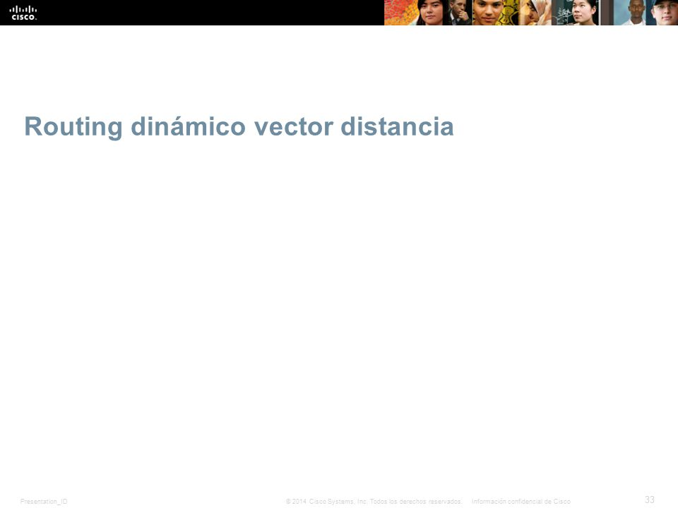 Routing dinámico vector distancia