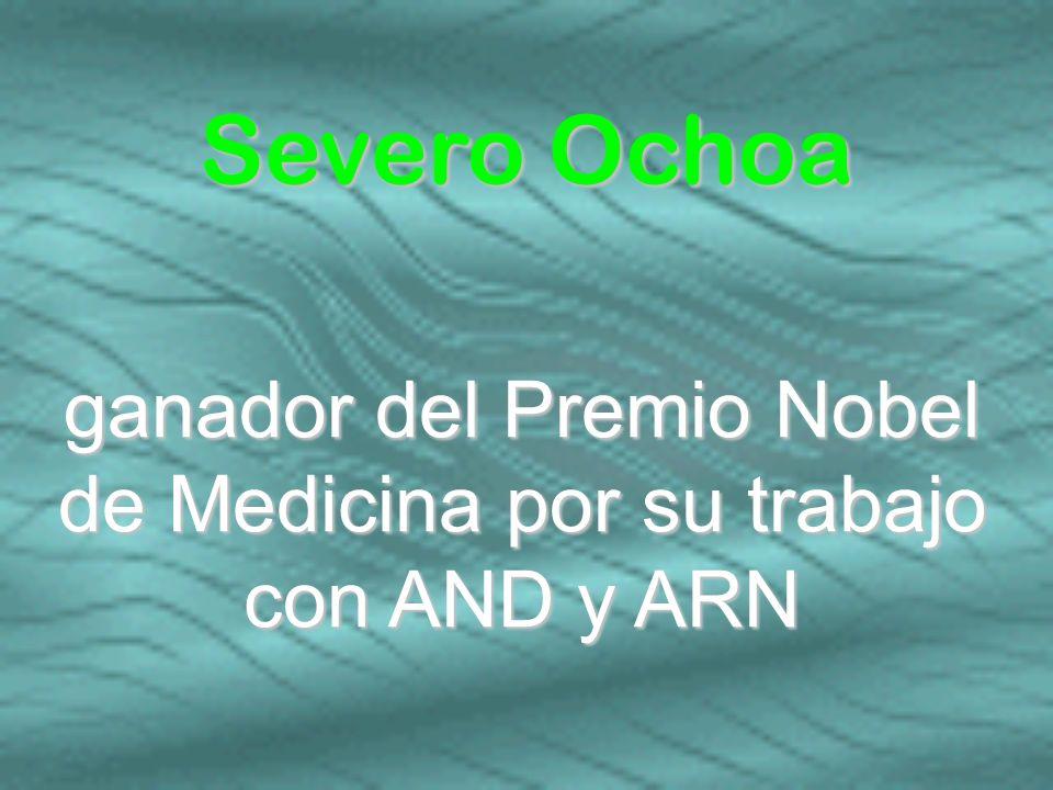 ganador del Premio Nobel de Medicina por su trabajo con AND y ARN