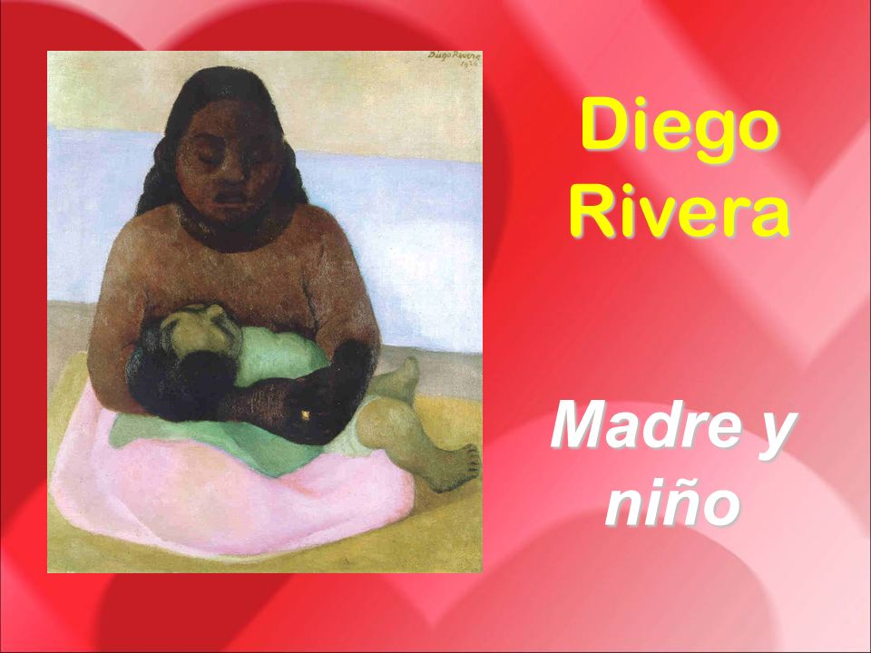 Diego Rivera Madre y niño