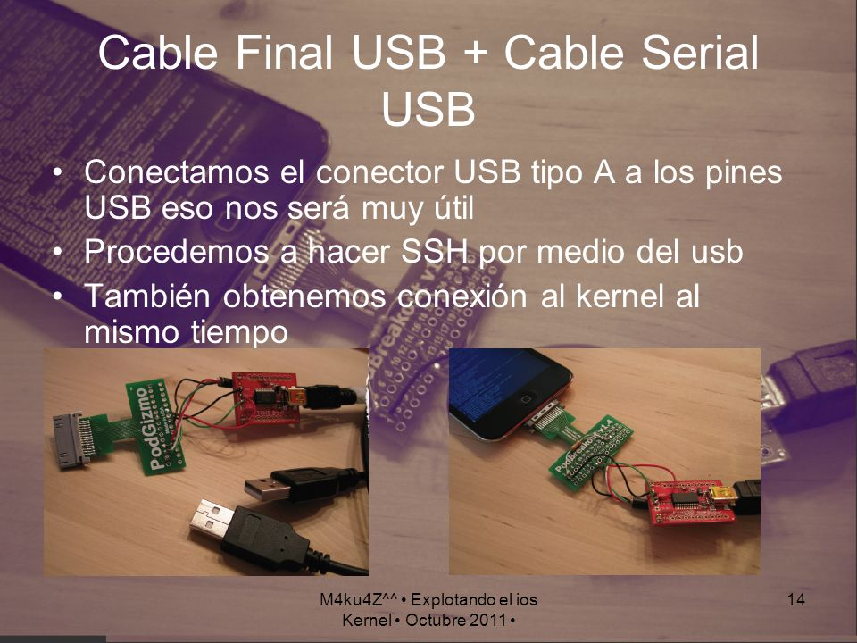 Cable Final USB + Cable Serial USB