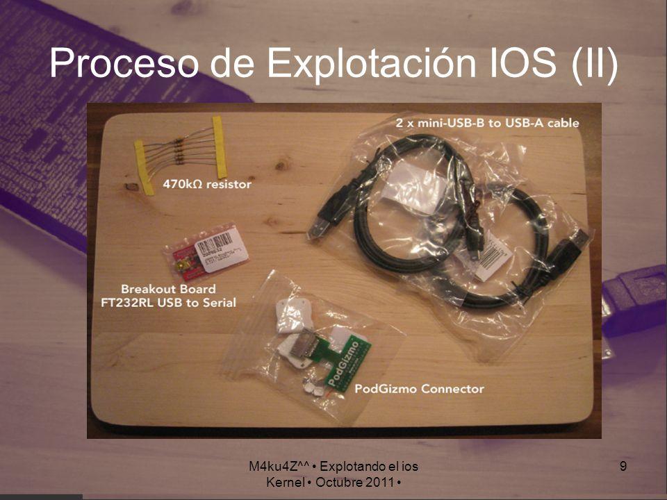 Proceso de Explotación IOS (II)