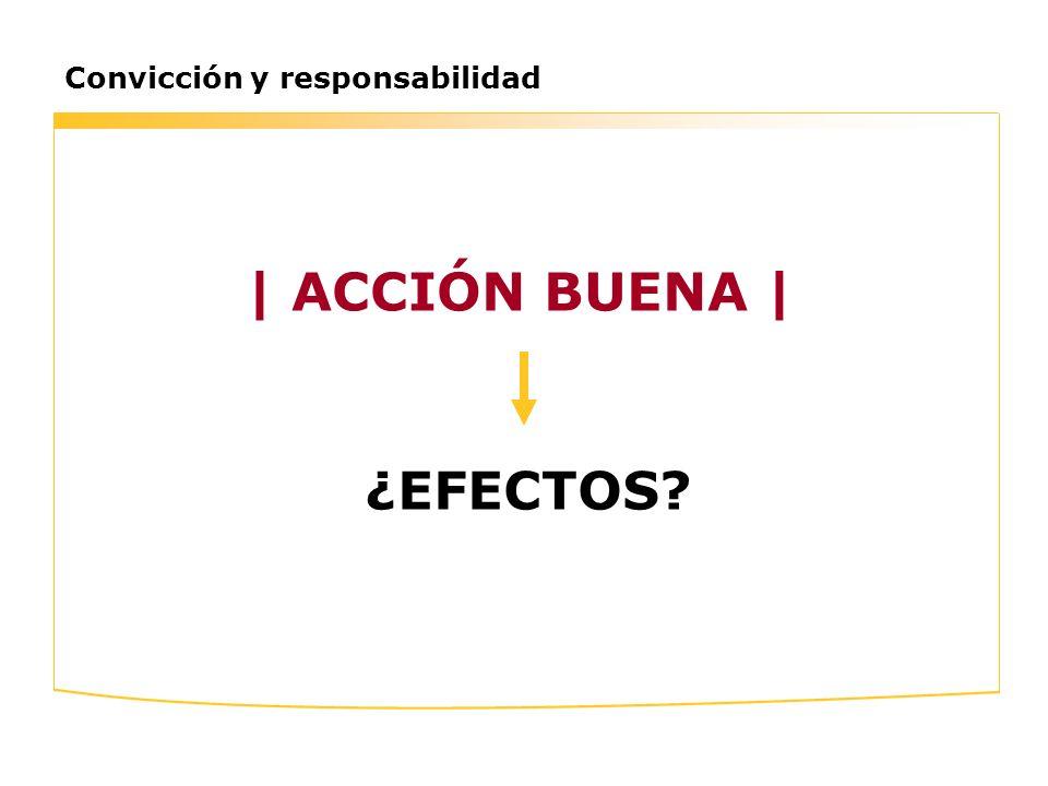 | ACCIÓN BUENA | ¿EFECTOS