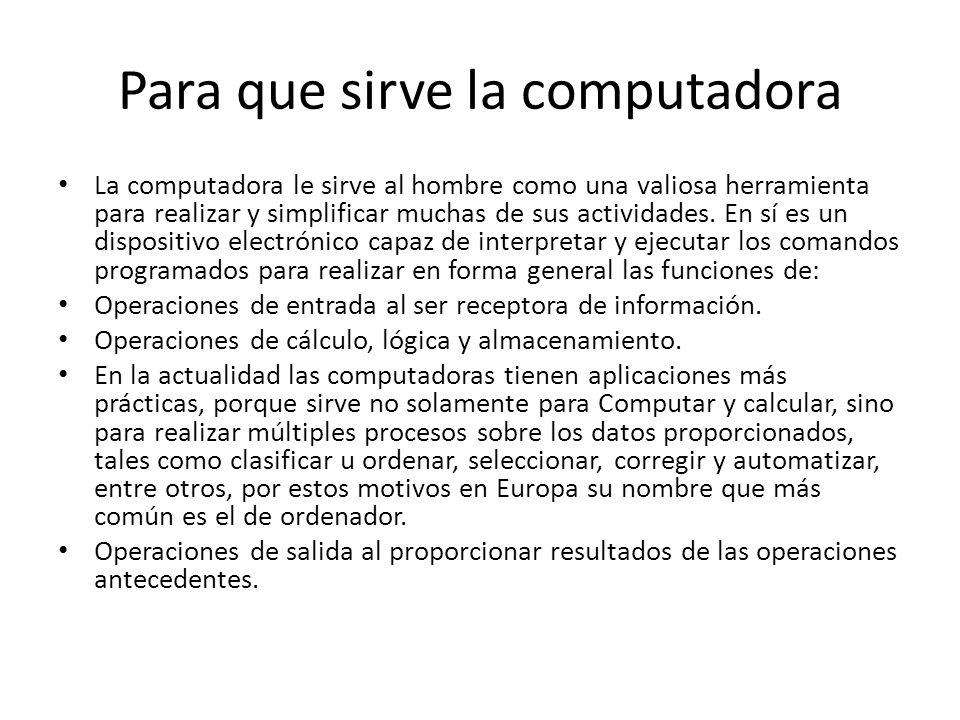 Los computadores jeraldin castrill n ppt descargar for Para que sirve la ergonomia