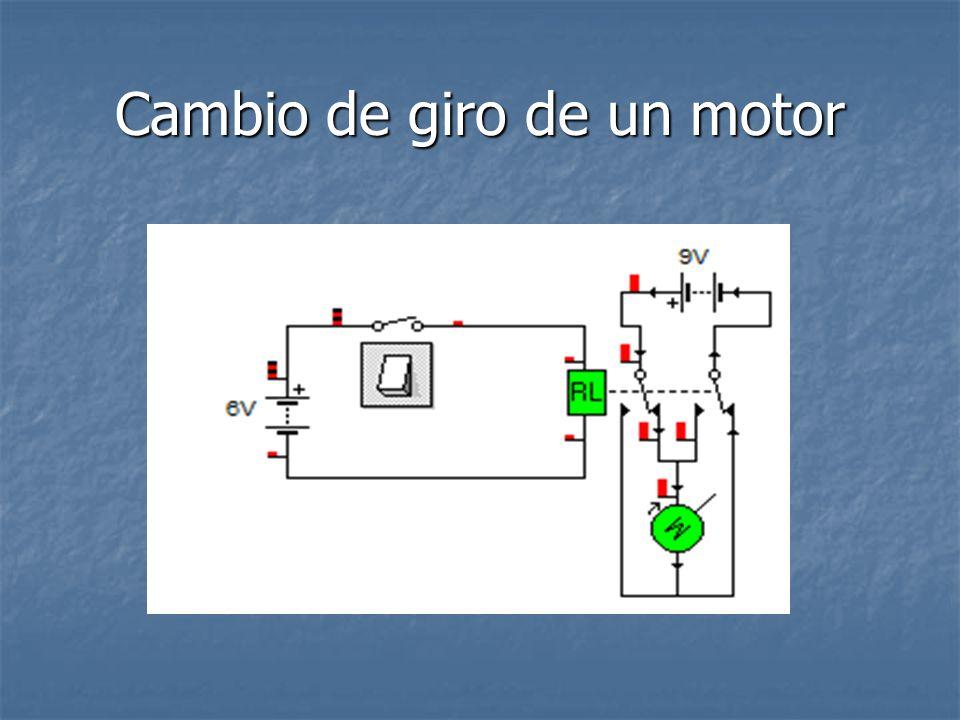 Cambio de giro de un motor
