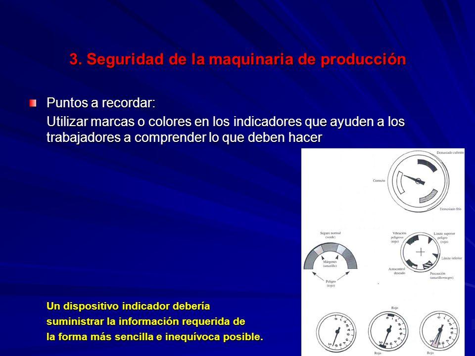 3. Seguridad de la maquinaria de producción