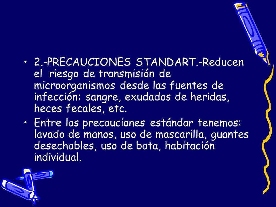2. -PRECAUCIONES STANDART