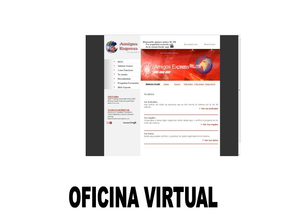 Sistema oficina virtual una ventana a la prosperidad ppt for Oficina virtual de fpe