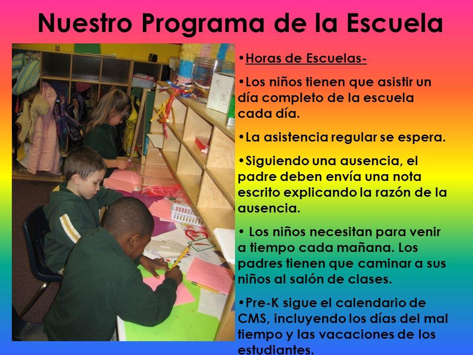 Nuestro Programa de la Escuela