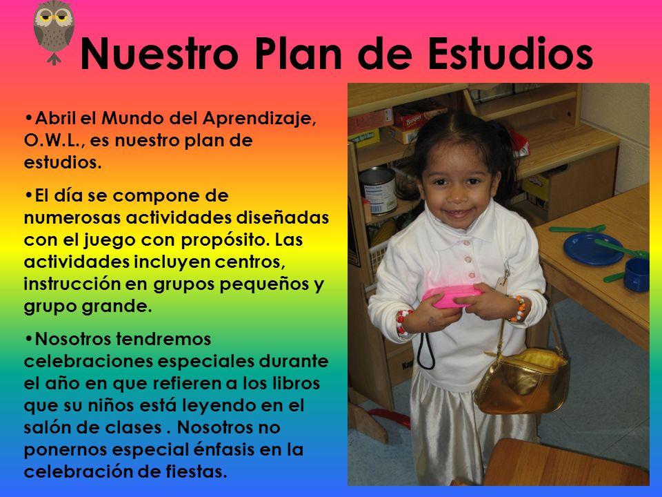Nuestro Plan de Estudios