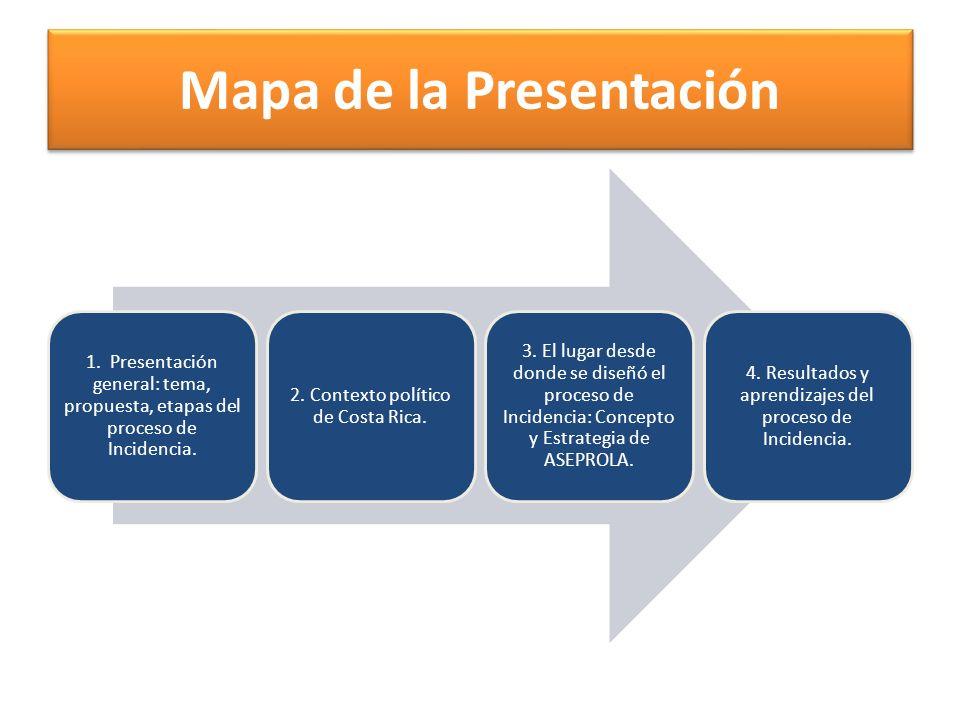 Mapa de la Presentación