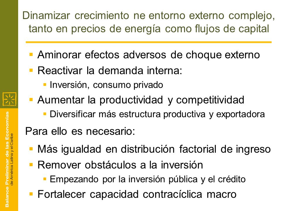 Aminorar efectos adversos de choque externo