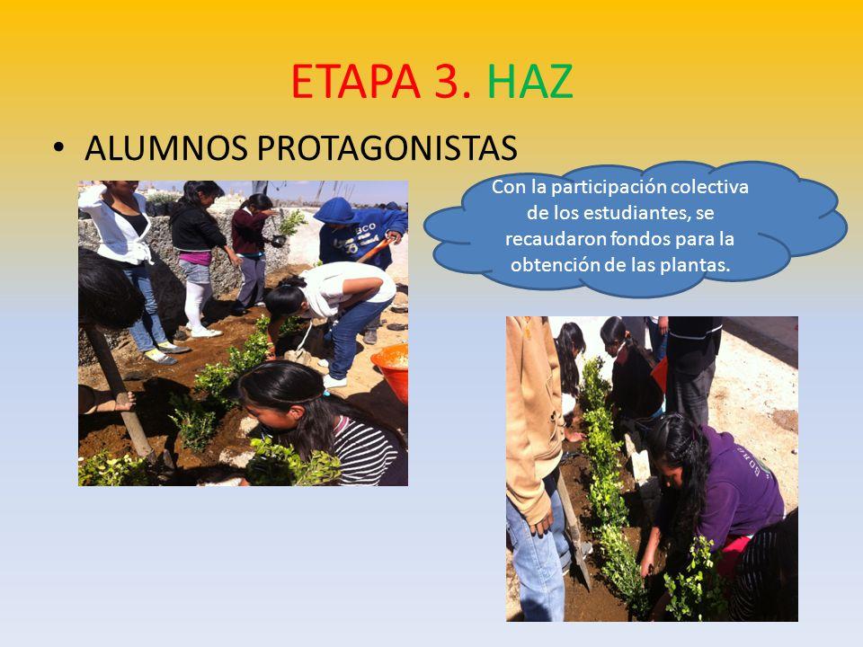 ETAPA 3. HAZ ALUMNOS PROTAGONISTAS