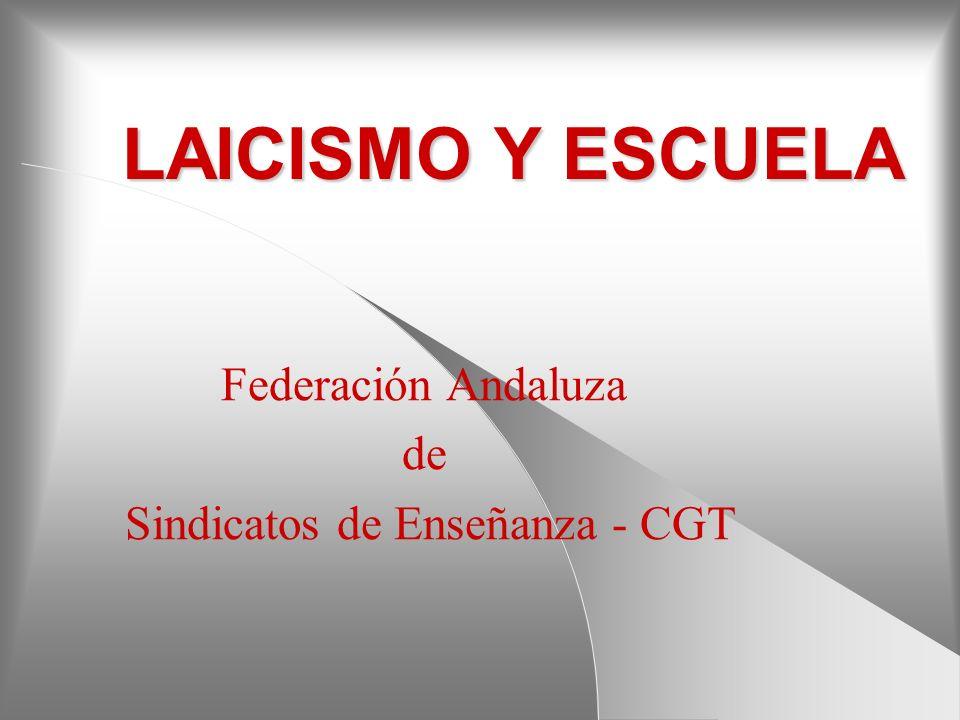 Federación Andaluza de Sindicatos de Enseñanza - CGT