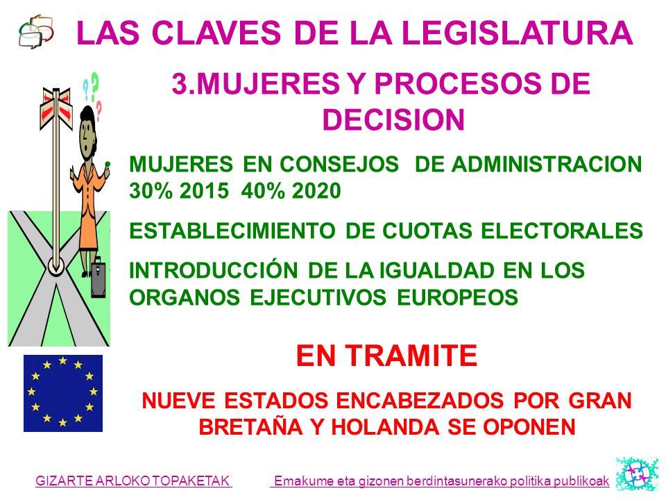 LAS CLAVES DE LA LEGISLATURA