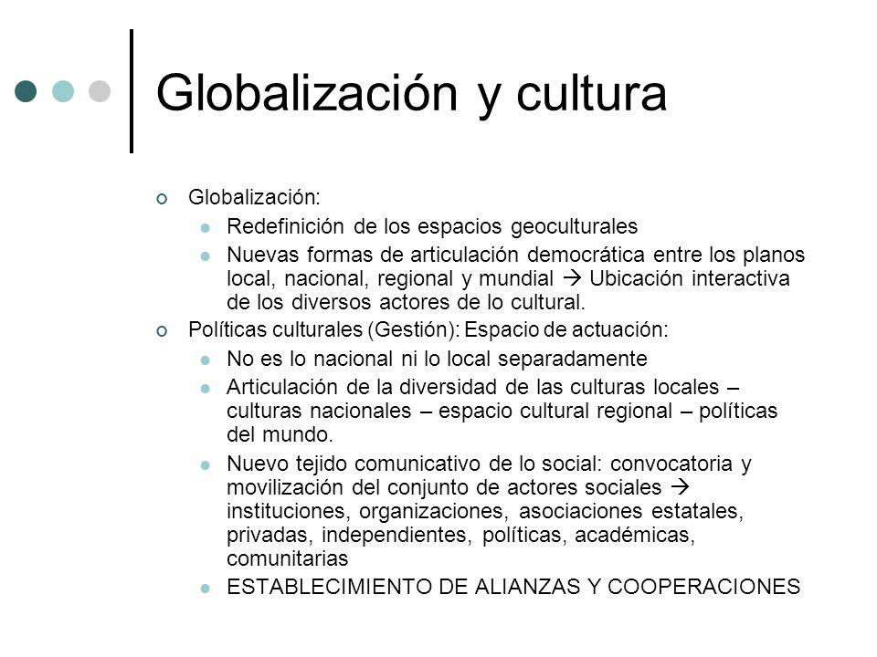 Globalización y cultura