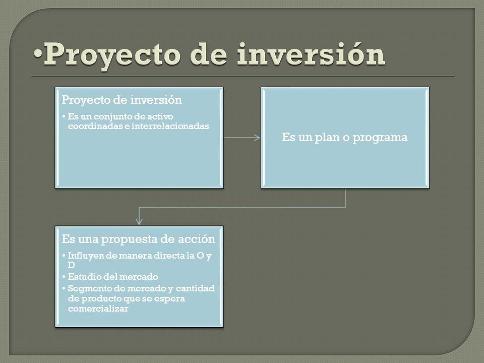 Proyecto de inversión Proyecto de inversión