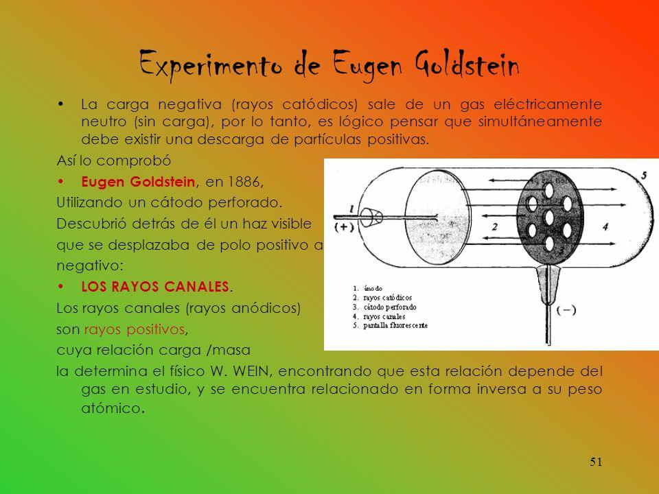 Experimento de Eugen Goldstein