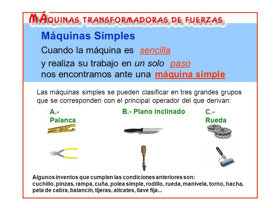 Contemporáneo Máquinas Simples Hojas De Trabajo Ornamento - hojas ...