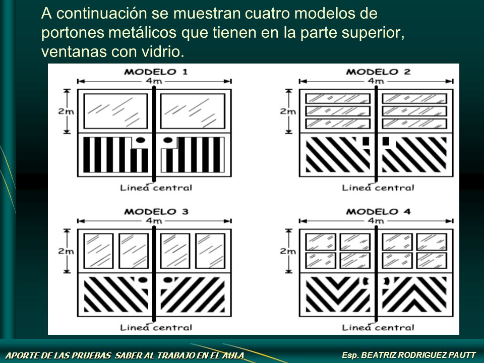 Beatriz rodriguez pautt ppt descargar for Modelos de portones metalicos