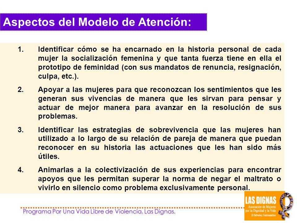 Aspectos del Modelo de Atención: